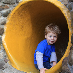 Rabbit Hole Slide at Fairytale Town